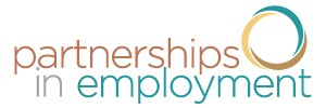 Partnerships in employment logo