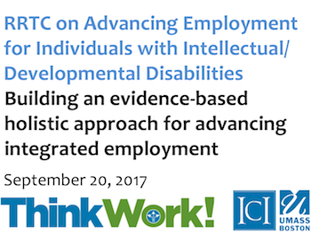 RRTC On Advancing Employment for Individuals and Inellectual/Developmental Disabilites